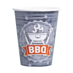 Gobelet Barbecue - Lot de 8