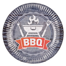 Assiettes Barbecue - Lot de 8