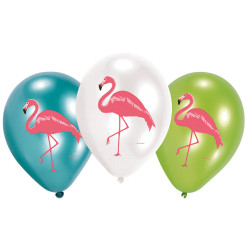 Ballon Flamand Rose - Lot de 6